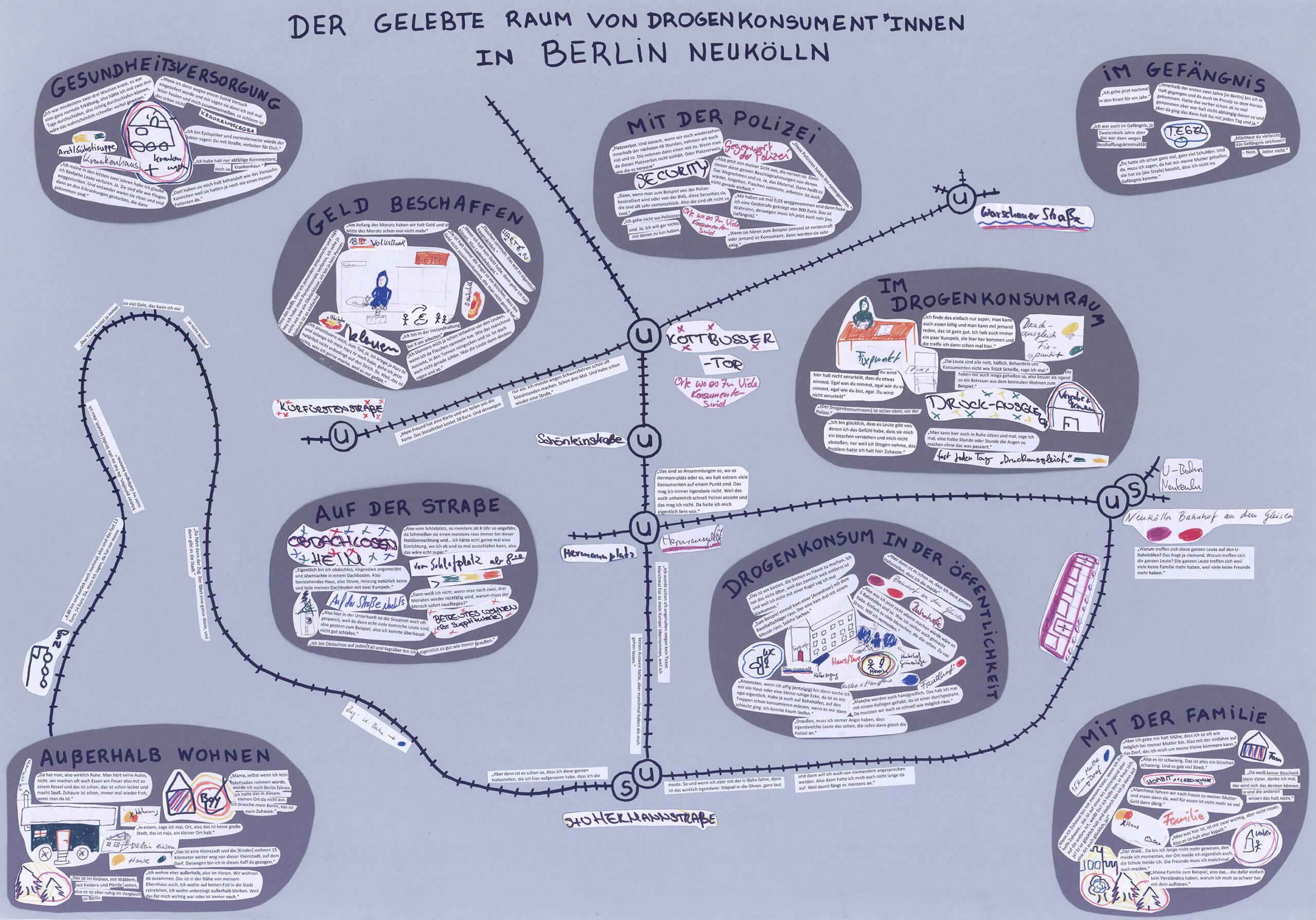 Der gelebte Raum von Drogenkonsument*innen in Berlin Nord-Neukölln